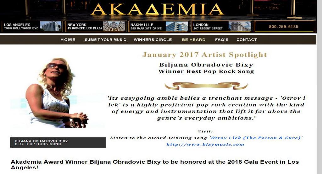 Akademia Music Award 2017